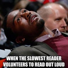 Same!! I just want to read in peace. Then I can finish before the rest of the class and read my own book!