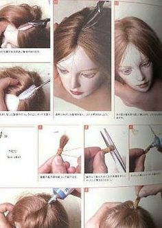 Liked on Pinterest: Soft Sculpture and Paper Clay Doll Making Tips From Rivkah Mizrahi of Doll Makers Muse