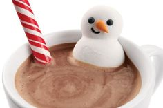Cocoa Trimming Kit - Winter Sucks Less With Marshmallow Snowmen Chillin' In Your Cocoa