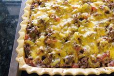 Southwestern-Style Beef and Potato Casserole: Ground Beef and Potato Casserole