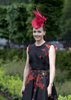 Victoria Pendleton during ladies day at Ascot Ascot Ladies Day b96e26e7d93