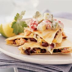 Hot-Smoked Salmon Quesadillas by Cooking Light