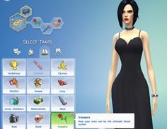 Vampire Trait by pastel-sims at Mod The Sims via Sims 4 Updates