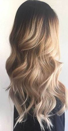 Blonde Long Hairstyle