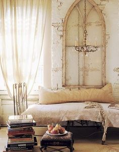 This will be my bedroom in my London flat. It will all be very romantic.