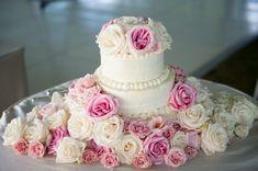Floral Wedding Cakes on WeddingWire