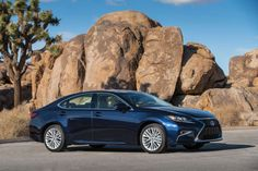 Lexus's  ES 350 entry-level luxury sedan wears a bolder front grille, refreshed fascia and standard LED headlights for 2016. Photo: Lexus / Copoyright 2013 Dewhurst Photography