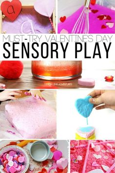 Must Try Valentine's Day Sensory Play Activities and Ideas for Kids