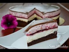 Málnás csokoládés joghurttorta elkészítése recepttel - Sütik Birodalma - YouTube