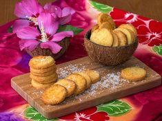 Sablés croquants à la noix de coco