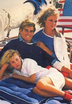 Ralph Lauren 1982  Bruce Weber, Buzzy Kerbox, Jane Gill