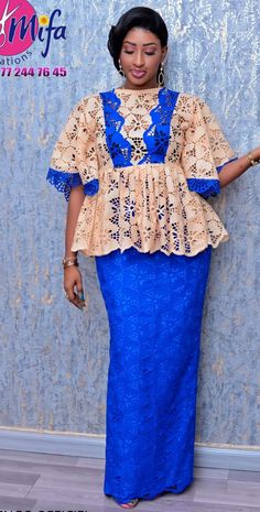 African Maxi Dresses, Latest African Fashion Dresses, African Print Fashion, Africa Fashion, African Attire, African Wear, Mode Kimono, African Lace Styles, African Blouses