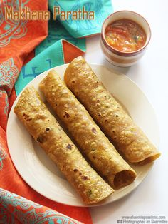 Phool Makhana Paratha - Lotus Seeds Paratha Recipe