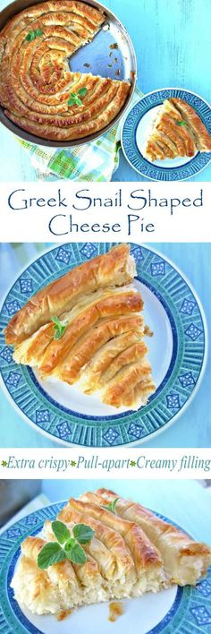 This pies is made with the best ingredients that Greek cuisine has to offer. A creamy bechamel filling, made with Greek yogurt, tangy feta cheese, a pinch of sweet Gruyère cheese and eggs. All wrapped up in super crispy phyllo pastry sheets. This recipe will make you really fond of cheese pies. In Greece this pie is considered one of the best that you can actually have. Time to give it a try!  #cheesepie #fetacheese #pie #Greekpie #Greekcuisine