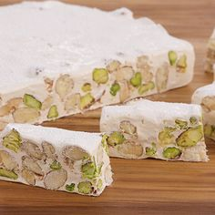 Try this Torrone recipe by Chef Anna Olson. This recipe is from the show Bake With Anna.
