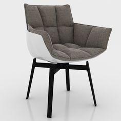Chairs | B&B Italia Husk Dining Chair