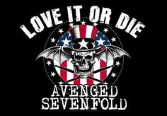love it or die Avenged Sevenfold wallpaper