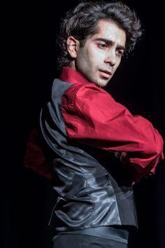 Jorge Muelas Flamenco dancer at La Peña Flamenca de Londres.