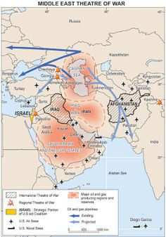Middle East - Theaters of War