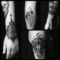 All done by Chris Brunner, tattooist based in Vienna, Austria TattooStage.com - Rate & review your tattoo artist. #tattoo #tattoos #ink