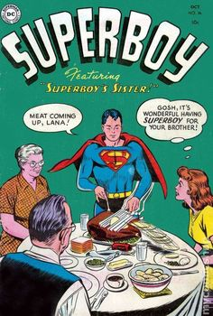 Superboy #comics #cover #vintage