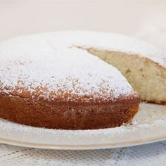 "Irish Tea Cake | ""This is a simple butter cake that is great with tea or coffee. Easy to make, pretty, and very delicious."""