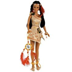Native American Doll - Valley Of Flowers, Algoma, 17-inch Full Vinyl