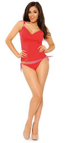 Paradise Red- Curvy Kate Swimwear Spring Summer 2013