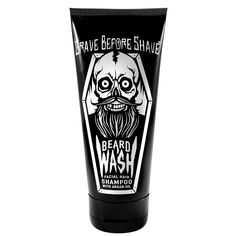 Image of GRAVE BEFORE SHAVE BEARD WASH SHAMPOO