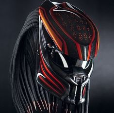 Details about Predator Motorcycle Helmet/ Alien vs Predator Bike Helm – (SNI) No… Details about Predator Motorcycle Helmet/ Alien vs Predator Bike Helm – (SNI) Not DOT Approved – Alien Vs Predator, Predator Helmet, Motorcycle Events, Motorcycle Style, Motorcycle Gear, Women Motorcycle, Bike Helmets, Steampunk Motorcycle, Motorcycle Equipment