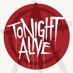 Tonight Alive Logo Sticker