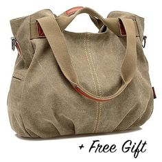 Trendy and handy satchels bags Buy Canvas Satchel Handbag with Free RFID Case in 7 Colors by Vista Canvas Purse, Canvas Handbags, Satchel Handbags, Purses And Handbags, Satchel Bag, Rfid Blocking Wallet, Color Khaki, Tote Purse, Vegan Leather