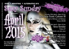 Sexy Sunday events at Whitby