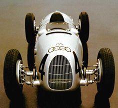 Automobile - 1936 Auto Union Type C. Courses F1, Auto Union, Mercedez Benz, Classic Race Cars, Vintage Race Car, Audi Cars, Car And Driver, Diesel, Sport Cars