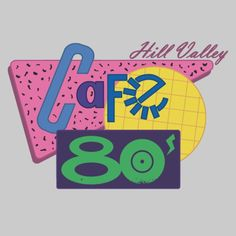 Cafe 80's! The Best site of Hill Valley. Inspired on Back to the Future