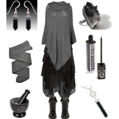 Born of the Ashes by maggiehemlock on Polyvore featuring Phase Eight, Dorothy Perkins, Trasparenze, GRIZAS and DailyLook