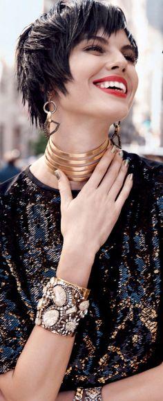 Maryna Linchuk for Vogue China 2013