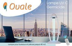 "Lampe UVC ""OVALE"" Lampe Uv, Wind Turbine, Innovation, Cell Membrane, Technology"