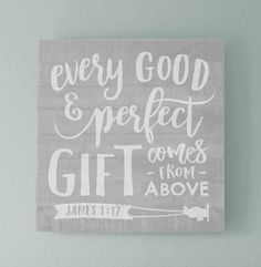 We love this verse and we love this sign. Would look absolutely adorable hung over a crib as part of an airplane nursery theme.