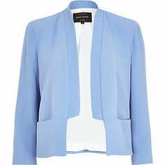 Light blue inverted collar blazer £45.00