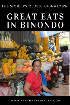 Read about where to eat and what to order in Binondo, Manila Philippines - the world's oldest Chinatown. Regions Of The Philippines, Visit Philippines, Manila Philippines, Philippines Travel, Thailand Travel, Japan Travel, China Travel, Food Travel, Backpacking Asia