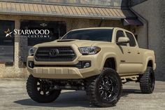 "5,357 Likes, 66 Comments - Starwood Motors® (@starwoodmotors) on Instagram: ""starwood custom toyota tacoma. #starwoodmotors"""