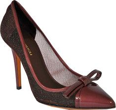 Update your closet with this absolutely stylist Analfi pump. It features mesh and patent upper and cute bowtie detail.  http://www.shoebuy.com/bruno-magli-analfi/580502/1201968