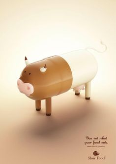 Slow Food: Pill animal, 3 | Ads of the World™