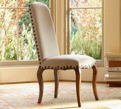 Decor Look Alikes | Pottery Barn Calais Dining Chair $349 vs $249 @ ZGallerie