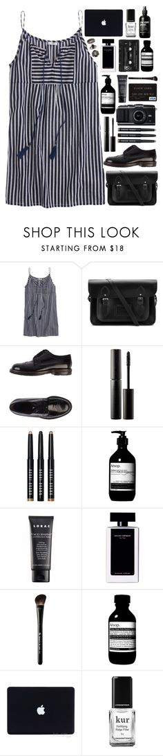 """""""And if you're still bleeding, you're the lucky ones"""" by annaclaraalvez ❤ liked on Polyvore featuring J.Crew, The Cambridge Satchel Company, Marni, Surratt, Bobbi Brown Cosmetics, Leica, Aesop, LORAC, Narciso Rodriguez and Floyd"""