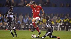 Testspiele: Die schönsten Fotos vom Testspiel zwischen dem FC Bayern und KAS Eupen.