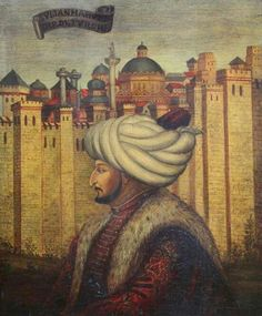 Fatih Sultan Mehmet, the sultan that conquered Constantinopel