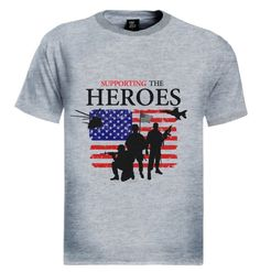 PROUD TO SUPPORT SUPPORTING THE ARMY HEROES T-Shirt Brand new 100% cotton standard weight t-shirt as shown in the picture. Express yourself through our t-shirts and make a statement. Add this item to your shopping cart by choosing the size and color you like. - See more at: http://www.greenturtle.com/Army/Army/PROUD-TO-SUPPORT-SUPPORTING-THE-ARMY-HEROES-T-Shirt-6422/#sthash.aQ9dsqve.dpuf