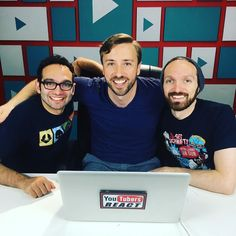Stoked to finally be on an episode of @finebros - Always have appreciated the work these two have done.  Such great people.